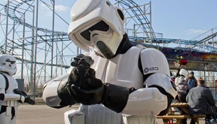 Star Wars day at the Milky Way North Devon attraction