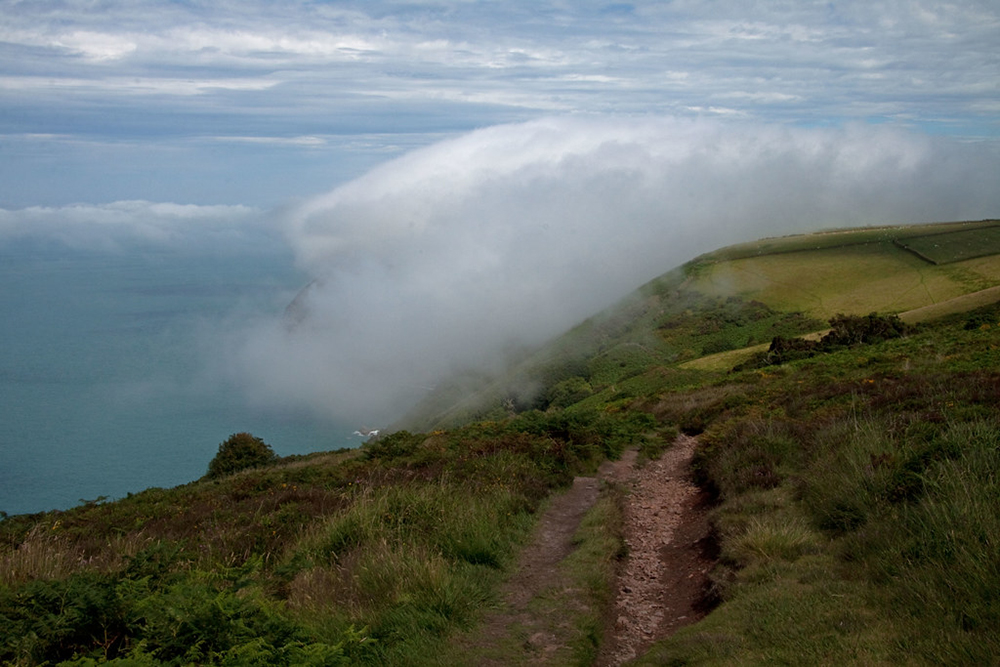 south west coast path from Lynton to Combe Martin