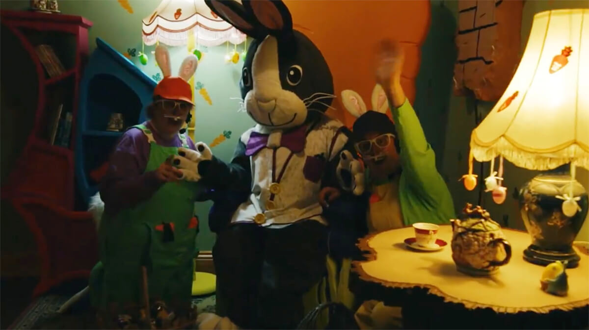 easter bunny milky way events north devon