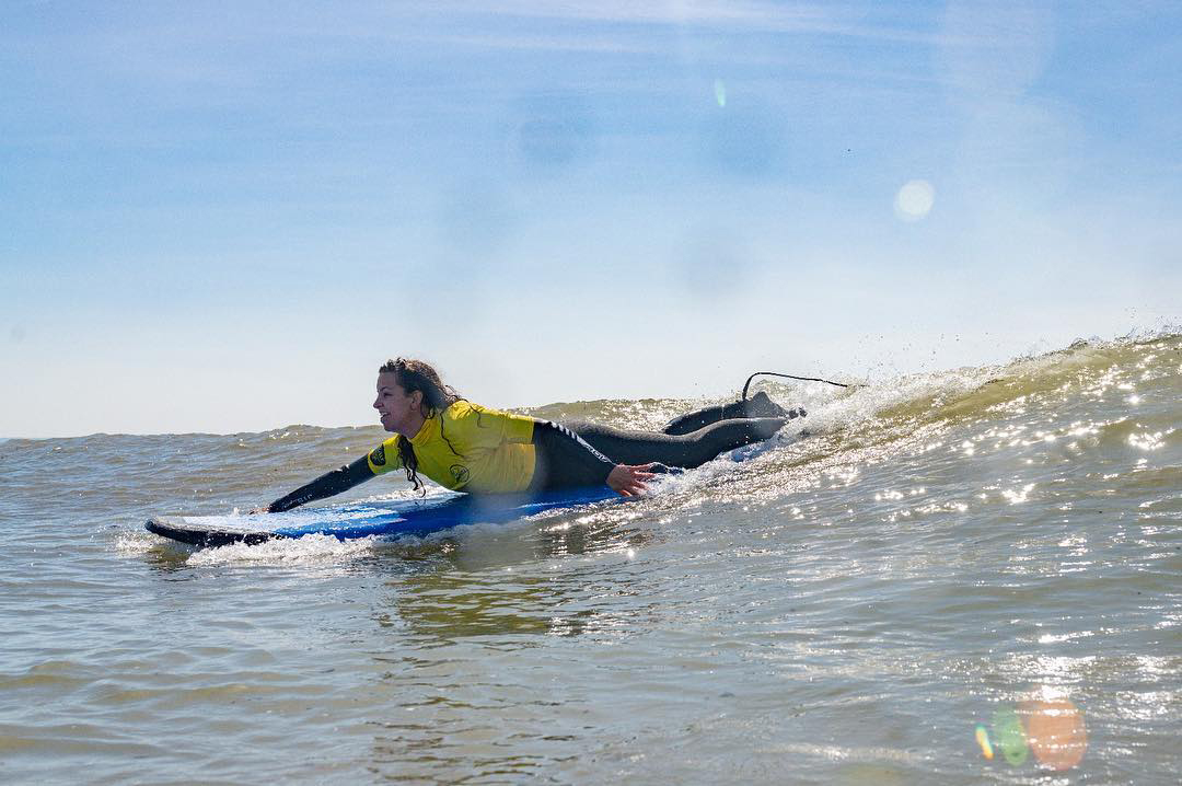 surfing croyde bay - learn to surf on holiday in North Devon