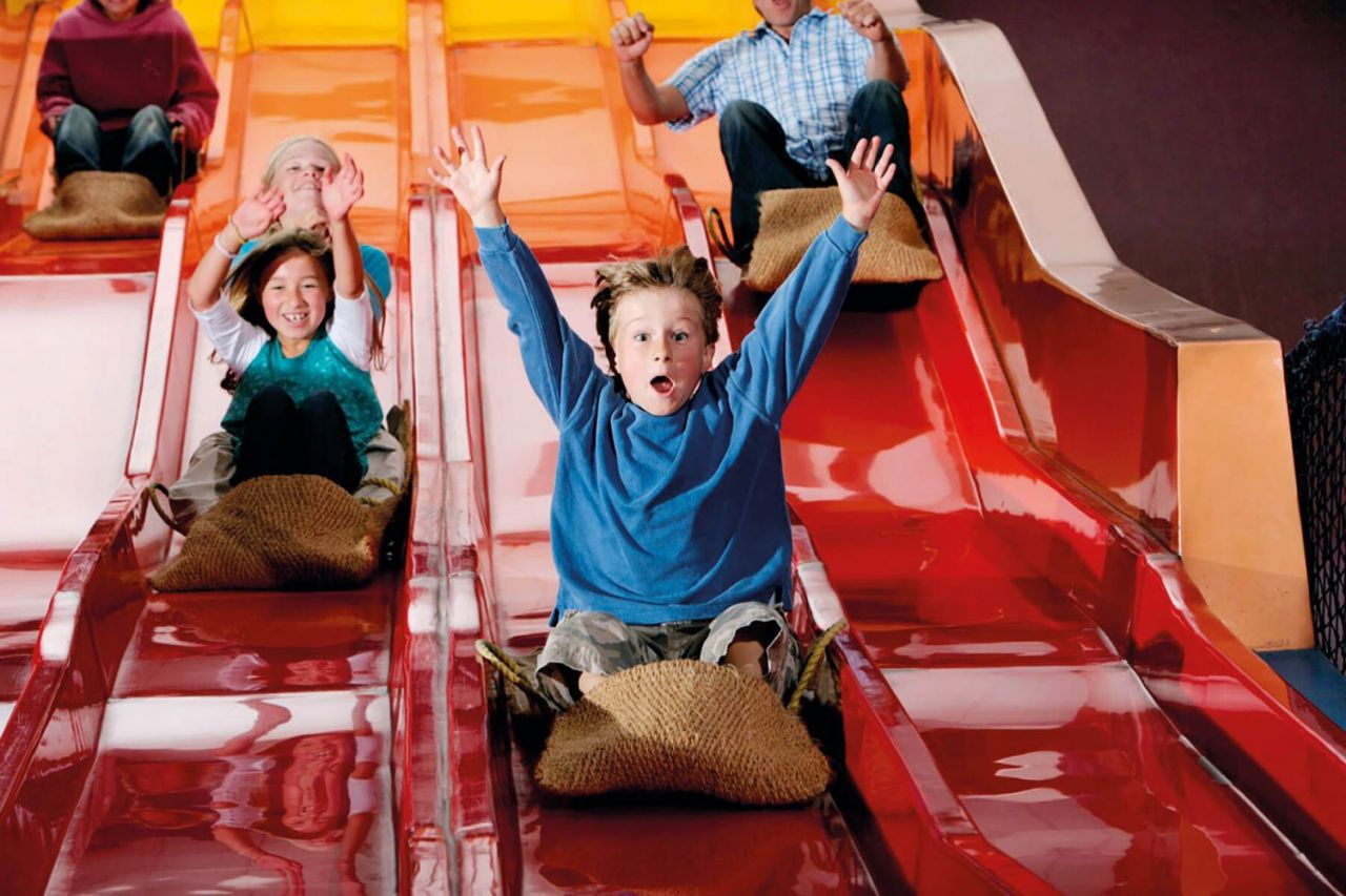 Th Milky Way in North Devon is a family attraction with indoor kids play area