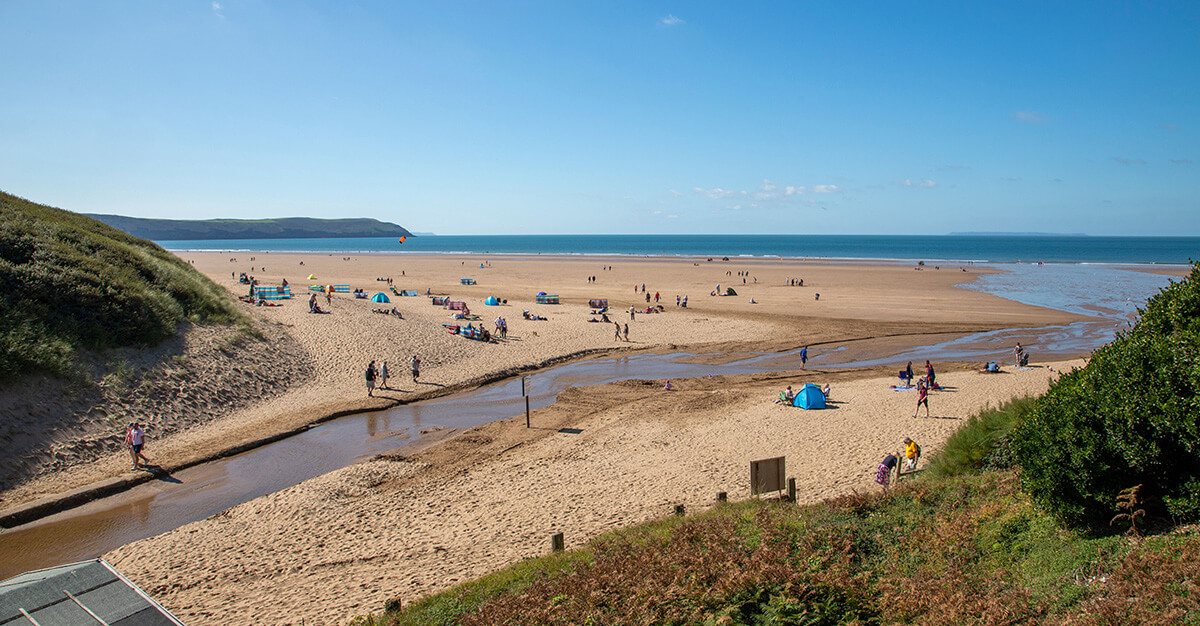 woolacombe beach staycation