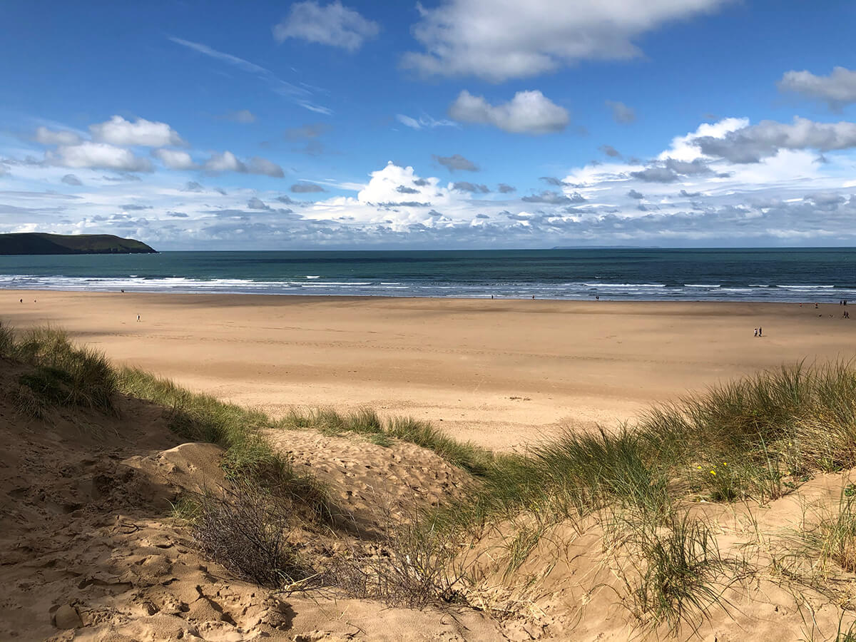 woolacombe beach - holiday itinerary